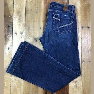 BKE Buckle Star 20 Flare Jeans Sz 29 x 31.5